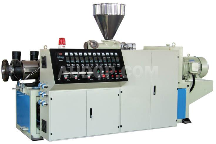 Conical Twin Screw Extruder China Conical Twin Screw