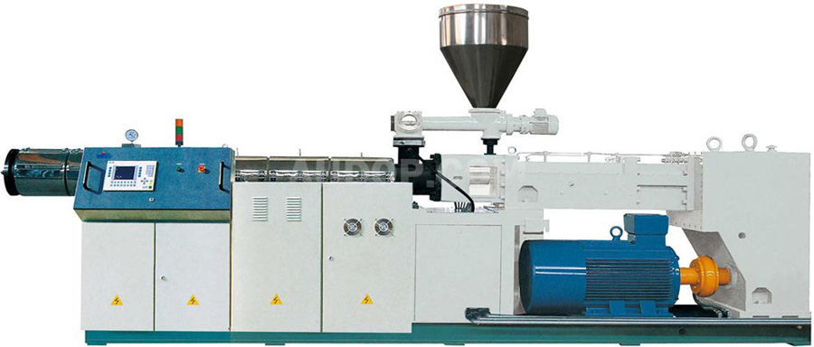 Counter-Rotating Parallel Twin Screw Extruder