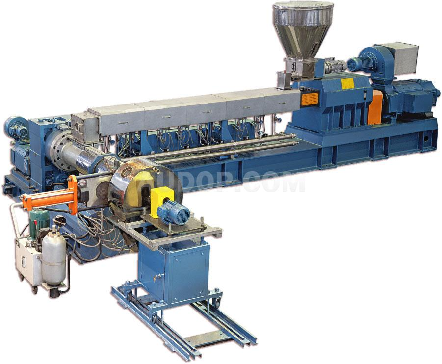 Two-Stage Twin Screw & Single Screw Compounding Extruder