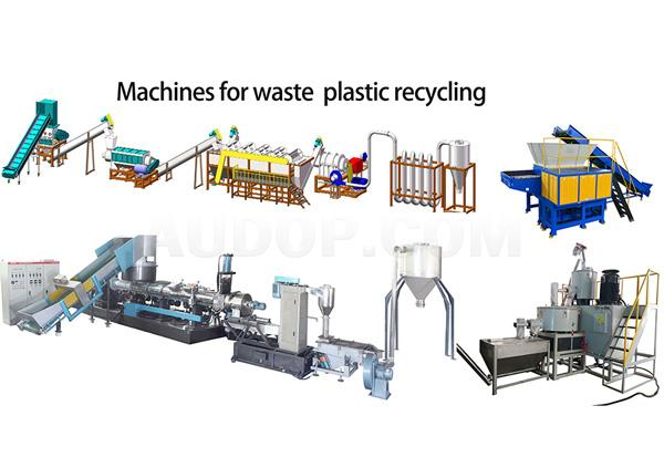 Waste PP PE Plastic Film Washing Recycling and Drying Line