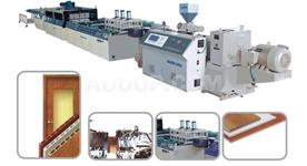 PVC Profile Extruding Machine